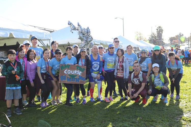 MassMutual Pacific Run Fundraiser Group
